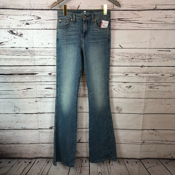 7 For All Mankind Denim - 7 For All Mankind 7FAM a pocket flare leg light